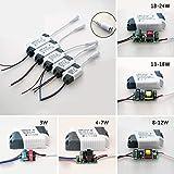 hudiemm0B LED Driver, 3-24W LED Driver Power Supply