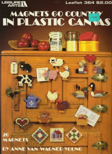 - Magnets go Country in Plastic Canvas: 20 Magnets