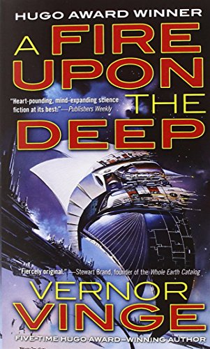 Book cover from A Fire Upon The Deep (Zones of Thought) by Vernor Vinge