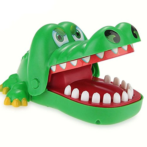 stem building toys Oun Nana Crocodile Dentist, Crocodile Biting Finger Game Funny Toy Gift Funny Toys For Kids, 1 To 4 Players, Ages 4 And Up