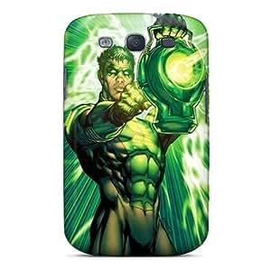 Samsung Galaxy S3 Ciz4684QXZq Provide Private Custom High Resolution Green Lantern I4 Image Bumper Hard Phone Covers -AaronBlanchette