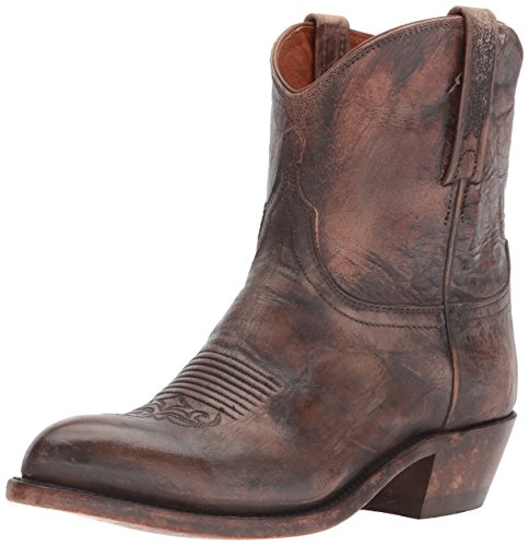 - Lucchese Women's WYLY Western Boot, Antique tan, 10 B US
