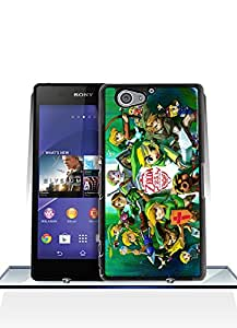 Sony Z2 Compact Funda Case, Game - Legend Of Zelda Ultra Slim Simple Premium Pretty Style Anti Dust Impact Resistant Hard Back Funda Case For Sony Xperia Z2 Compact [Just fit for Z2 Compact]