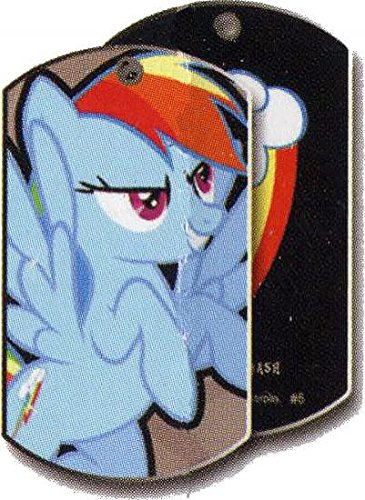 Amazoncom 2013 My Little Pony Dog Tags 6 Rainbow Dash By