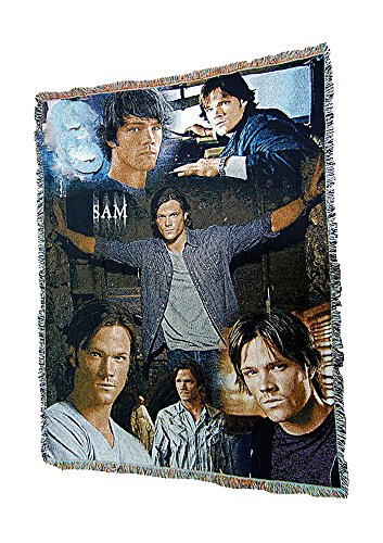 sam and dean winchester blanket - 1