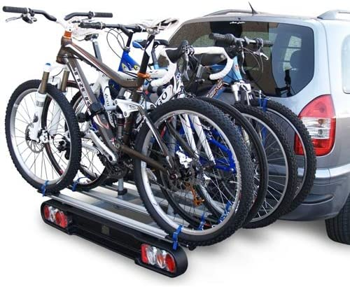 MENABO 000015400000 Race 4 Soporte de Bicicletas con 4 Carriles ...