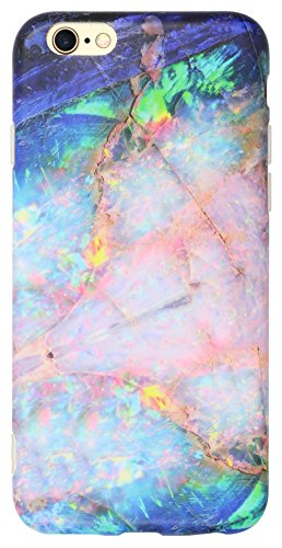 iphone-6-case-iphone-6s-case-iiexcel-imd-frosted-series-marble-blue-opal-stone-pattern-anti-scratch-