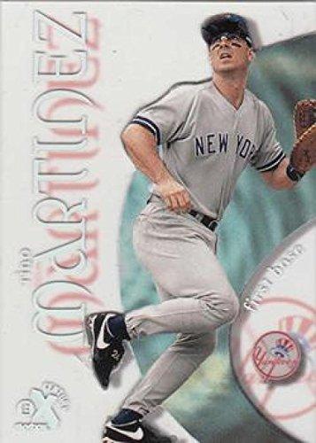 (Baseball MLB 1999 E-X Century #73 Tino Martinez Yankees)