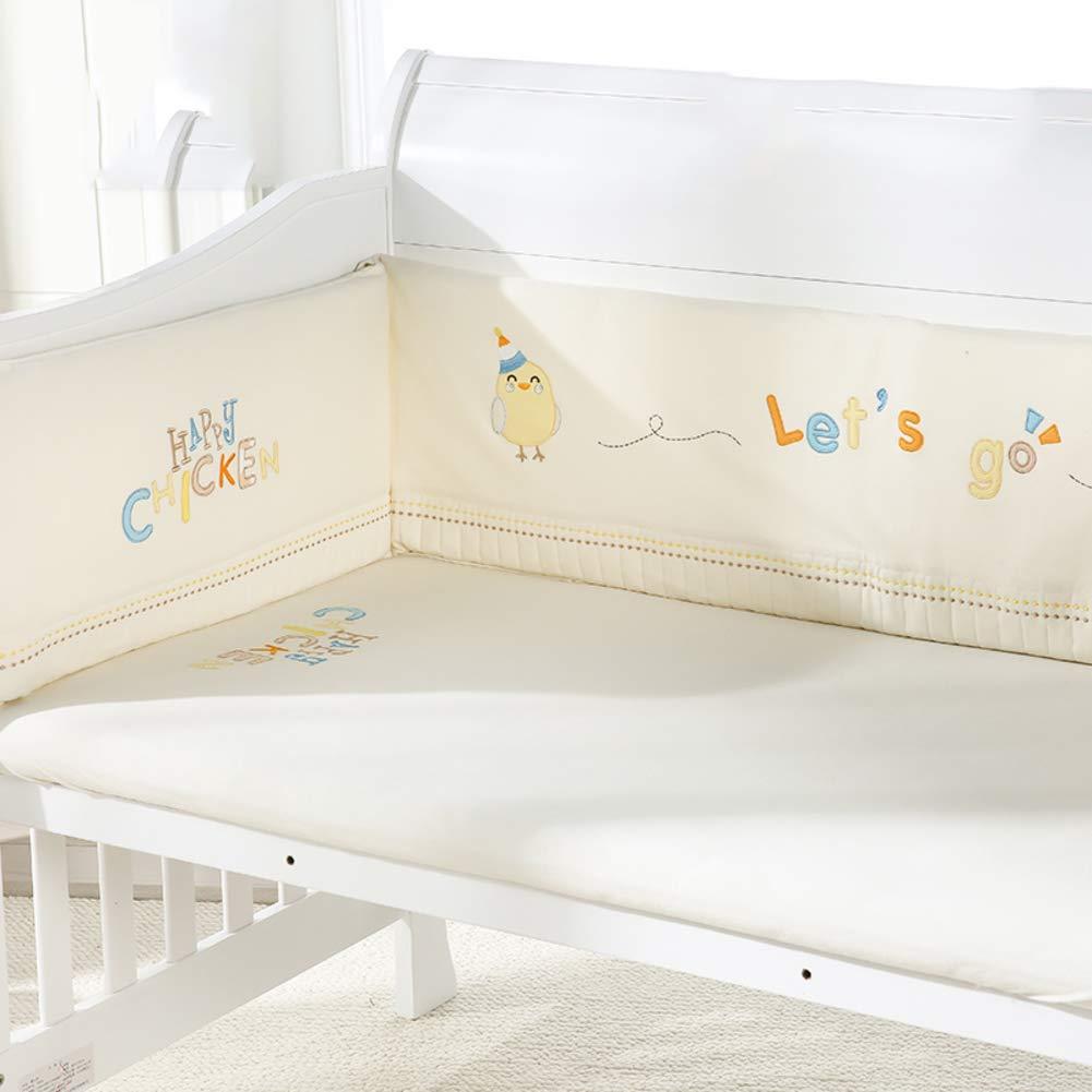 Xxn ベッドレール, 赤ちゃんの寝具の設定 無衝突保育園ゆりかご装飾 ベビーベッド寝具のソフト クッション安全プロテクター2-B 120x65cm(47x26inch) 120x65cm(47x26inch) B B07KY7HRYH
