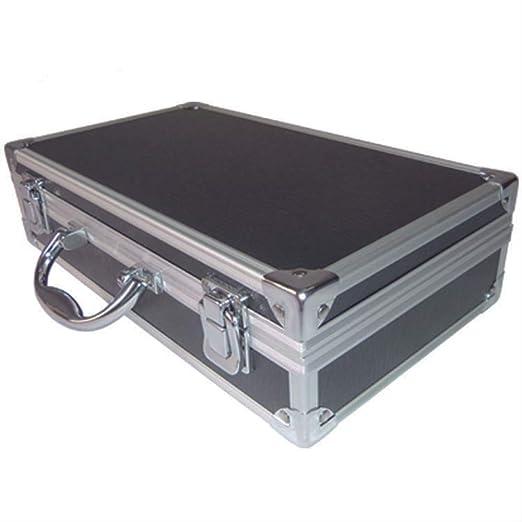 ACRDXF 30X17X8Cm Caja De Herramientas De Aluminio Maleta Portátil ...