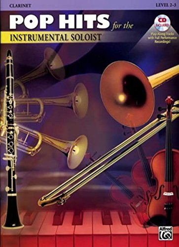 Pop Hits for the Instrumental Soloist: Clarinet, Book & CD