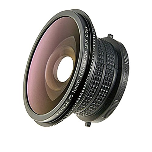 Raynox HDP-2800ES 0.28x High Definition Diagonal Fisheye Conversion Lens for 52 mm Filter
