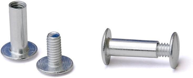 5//8 in Aluminum Chicago Screws//Screw Posts Qty 100 Sets