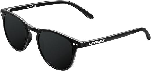 NORTHWEEK Wall All Black - Gafas de Sol para Hombre y Mujer