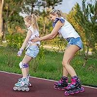 Sulifeel - Patines en línea Ajustables para niñas, con ...