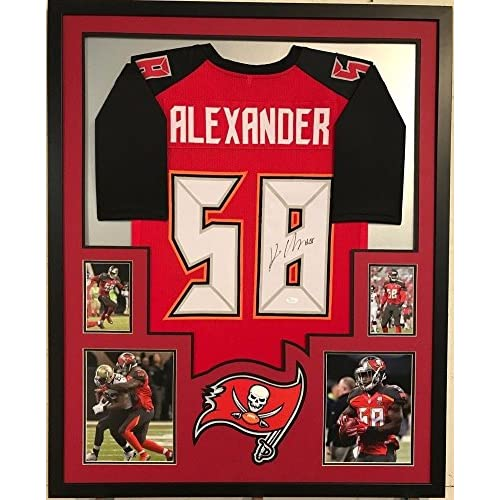separation shoes feac5 60fbf Framed Kwon Alexander Autographed Tampa Bay Buccaneers ...