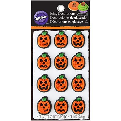 (Willton 710-6026 Halloween Pumpkin Jack-O-Lantern Icing)