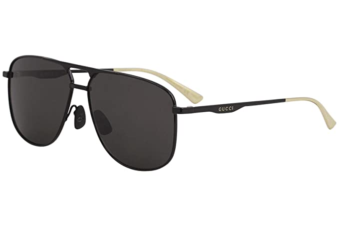 Gafas de Sol Gucci GG0336S BLACK/GREY hombre: Amazon.es ...