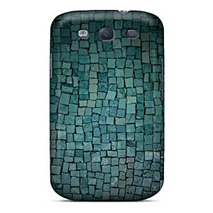 Waterdrop Snap-on Aqua Tiles Case For Galaxy S3