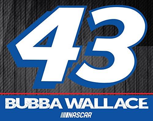 "Bubba Wallace #43 5"" x 6"" Magnet Single"