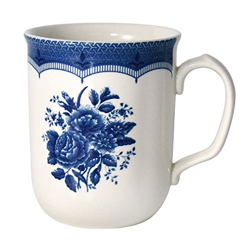 51OrYX0LZrL - Tudor 16-Piece Porcelain Dinnerware Set, Service for 4 - VICTORIA BLUE, 10 Designs Inside!