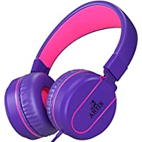 ARTIX Headphones with Microphone for Travel, Work, Kids,...