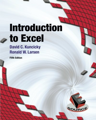 Introduction to Excel (5th Edition)