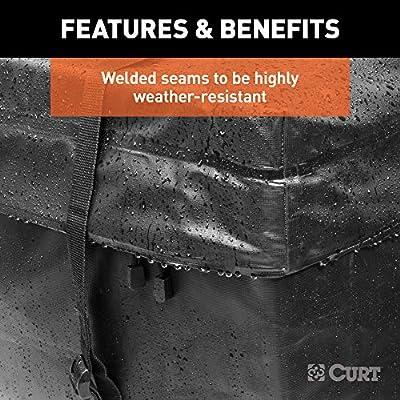CURT 18210 Cargo Bag, Black Vinyl, 56-Inch x 18-Inch x 21-Inch: Automotive