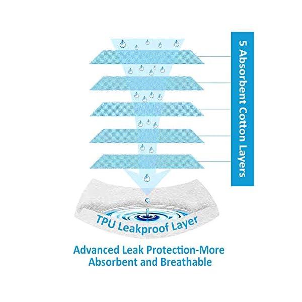 Flyish - Mutande per imparare a usare il vasino, per bambini e bambine da 1 a 4 anni, confezione da 4 Ragazzi. 12 Mesi 5