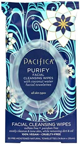 Facial Cleansing Wipes: Pacifica Purify Coconut Water Cleansing Wipes