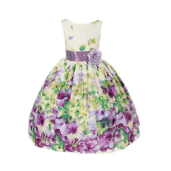 Kerrian Online Fashions 51OraJUPJWL Kid's Dream Girls' Special Occasion Double Layer Mesh Flower Girl Dress