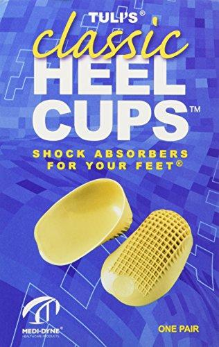 Tuli's Classic Heel Cups, Large (Over 175lbs)