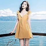 642b75808 dress Vestido de punto de manga larga de flores de verano de las mujeres  Falda de