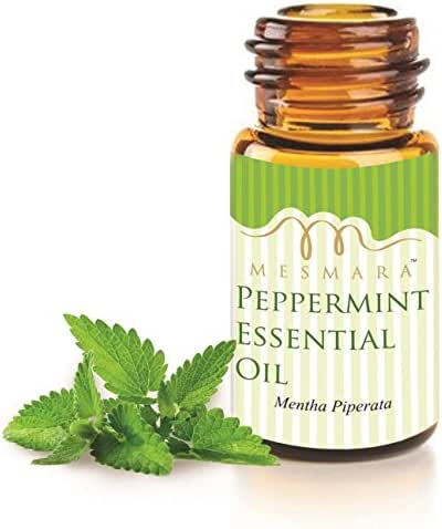 Mesmara 100% Pure & Natural Peppermint Essential Oil 30 ml for Facial Mask & Hair Growth - 100% Pure & Natural