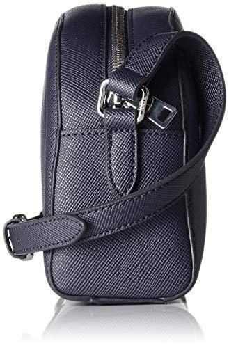 Shz Luna Mujer Bolso Azul Blue De Joop dark Hombro Shoulderbag Saffiano CfwxPq6