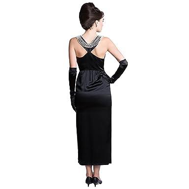 Utopiat Damen Cocktail Kleid schwarz schwarz: Amazon.de: Bekleidung