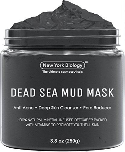 Price comparison product image Dead Sea Mud Mask for Face & Body - 100% Natural Spa Quality - Best Pore Reducer & Minimizer to Help Treat Acne ,  Blackheads & Oily Skin – Tightens Skin for a Visibly Healthier Complexion – 8.8 OZ