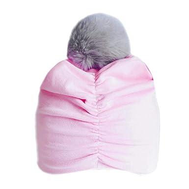 Newborn Toddler Kids Baby Boy Girl Indian Turban Knot Cotton Beanie Hat Cap Sigh