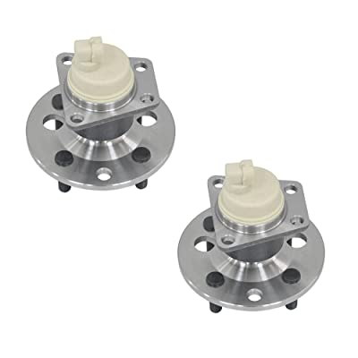 DRIVESTAR 512002x2 Pair:2 New Rear Left and Right wheel hub & Bearing w/ABS for Saturn S Series: Automotive