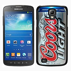 Great Quality Samsung Galaxy S4 Active i9295 Case ,coors light beer can Black Samsung Galaxy S4 Active i9295 Cover Case Hot Sale Phone Case Unique And Beatiful Designed