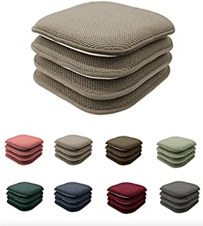 4 Pack GoodGram Non Slip Honeycomb Premium Comfort Memory Foam Chair Pads/ Cushions -  sc 1 st  Amazon.com & Amazon.com: Klear Vu Twillo Captainu0027s Extra-Large Twillo Gripper ...