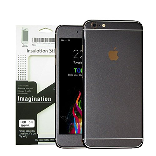 Toeoe 6s Plus/6 Plus (5.5'') High-strength and Super-thin Tough Metallic Film Sticker...