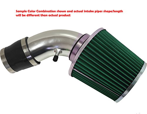 1996 1997 1998 1999 2000 Chevy Tahoe 5.0L 5.7L V8 Air Intake Filter Kit System (Black Accessories with Green Filter) Chevy F 5 Intake System