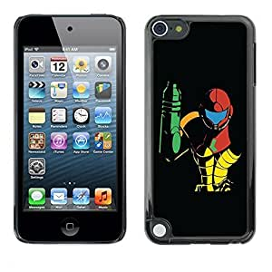 Beautifulcase GagaDesign cell phone Accessories: case cover for 0e1RBvqNry1 Apple iPod Touch 5 - Metroid