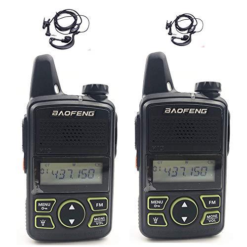 Original BAOFENG BF-T1 Mini Walkie Talkie UHF 400-470mhz Portable Two Way Radio (1 Pair)