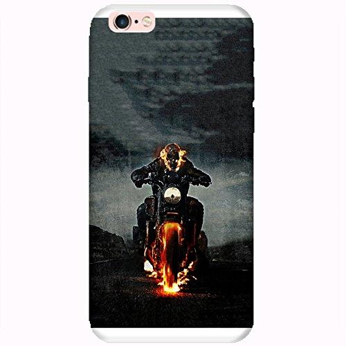 Coque Apple Iphone 6-6s - Ghost Rider Motard