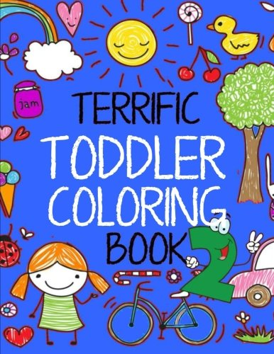 Terrific Toddler Coloring Book Educational product image