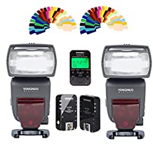 Yongnuo YN685 Wireless Flash Speedlite ETTL HSS with LCD Screen+ YN622C Kit Flash Trigger and Contoller for Canon DSLR Cameras
