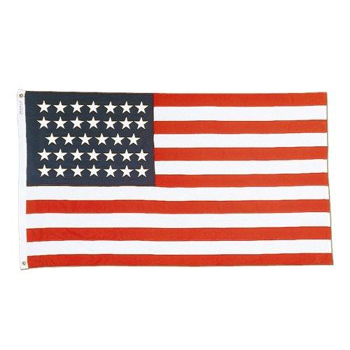 Nylon 34 Star American Flag - 3