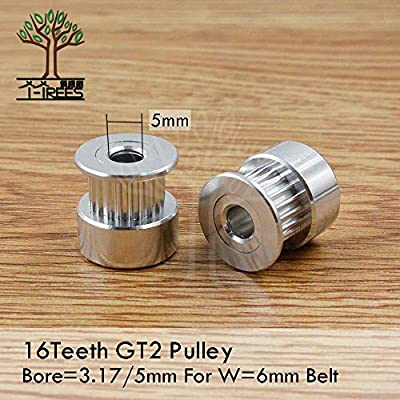 Laliva Impresora 3D - GT2 Polea de distribución 16 dientes ...